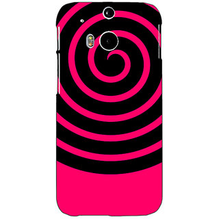 EYP Hippie Psychedelic Back Cover Case For HTC One M8 Eye 331271