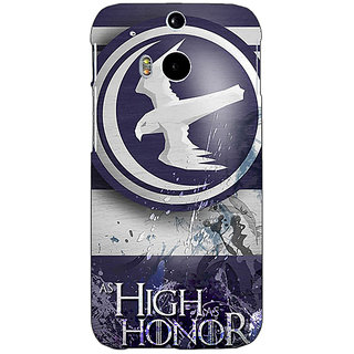 EYP Game Of Thrones GOT Arryn Back Cover Case For HTC One M8 Eye 331532