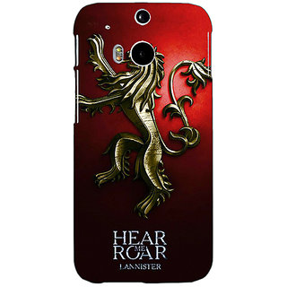 EYP Game Of Thrones GOT House Lannister Back Cover Case For HTC One M8 Eye 331553