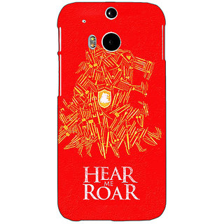 EYP Game Of Thrones GOT House Lannister Tyrion Back Cover Case For HTC One M8 Eye 331558