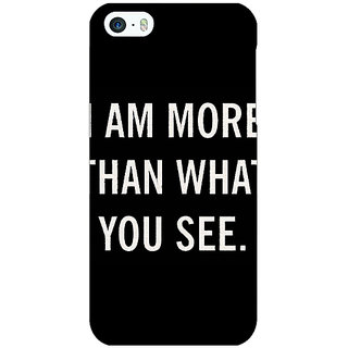 EYP Quote Back Cover Case For Apple iPhone 5 21230