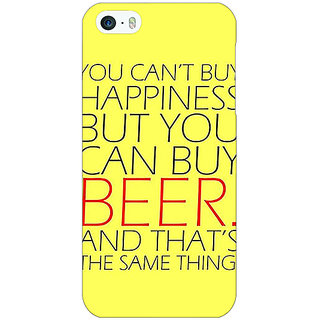 EYP Beer Quote Back Cover Case For Apple iPhone 5 21231