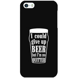 EYP Beer Quote Back Cover Case For Apple iPhone 5 21254