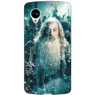 EYP LOTR Hobbit Gandalf Back Cover Case For Google Nexus 5 40363