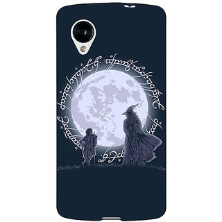EYP LOTR Hobbit  Back Cover Case For Google Nexus 5 40378