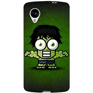 EYP Big Eyed Superheroes Hulk Back Cover Case For Google Nexus 5 40394