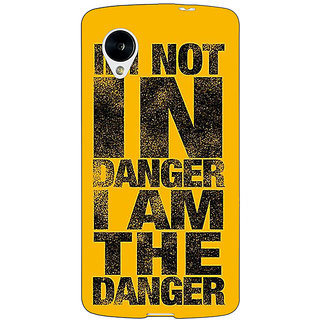 EYP Breaking Bad Heisenberg Back Cover Case For Google Nexus 5 40409