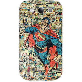 EYP Superheroes Superman Back Cover Case For Samsung Galaxy S3 Neo 340038