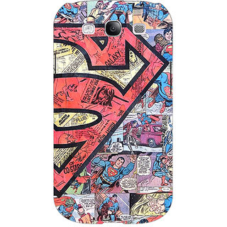 EYP Superheroes Superman Back Cover Case For Samsung Galaxy S3 Neo 340044