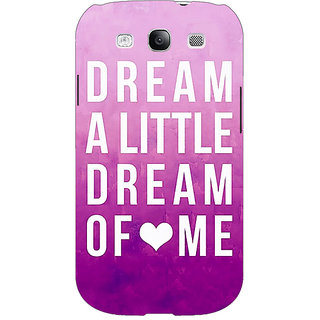 EYP Dream Love Back Cover Case For Samsung Galaxy S3 Neo 340090