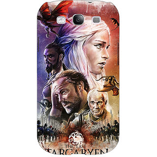 EYP Game Of Thrones GOT House Targaryen  Back Cover Case For Samsung Galaxy S3 Neo 340139