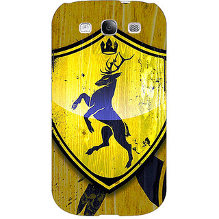 EYP Game Of Thrones GOT House Baratheon  Back Cover Case For Samsung Galaxy S3 Neo 340167