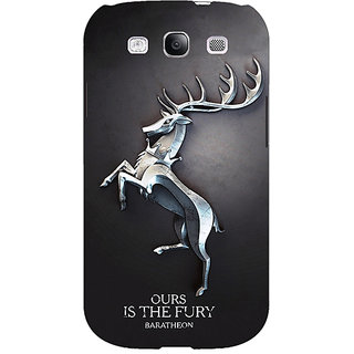 EYP Game Of Thrones GOT House Baratheon  Back Cover Case For Samsung Galaxy S3 Neo 340169