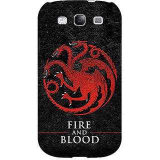 EYP Game Of Thrones GOT House Targaryen  Back Cover Case For Samsung Galaxy S3 Neo 340200