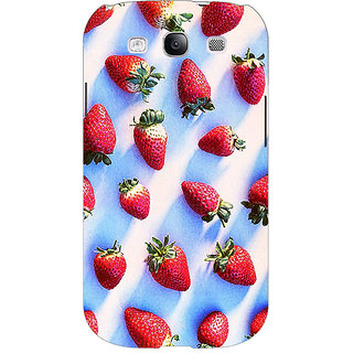 EYP StrawberryPattern Back Cover Case For Samsung Galaxy S3 Neo 340202