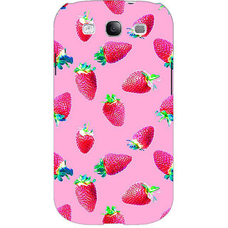 EYP Strawberry Pattern Back Cover Case For Samsung Galaxy S3 Neo 340203