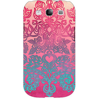EYP Princess Pattern Back Cover Case For Samsung Galaxy S3 Neo 340229