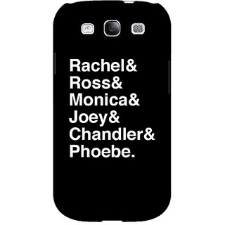 EYP FRIENDS Back Cover Case For Samsung Galaxy S3 Neo 340446