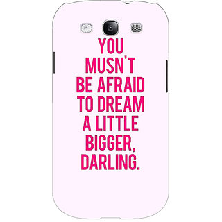 EYP Quotes Back Cover Case For Samsung Galaxy S3 51197