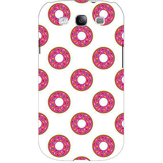 EYP Donut Pattern Back Cover Case For Samsung Galaxy S3 Neo 341384