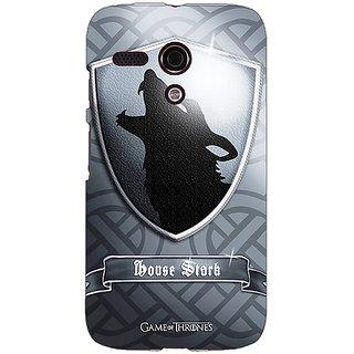 EYP Game Of Thrones GOT House Stark  Back Cover Case For Moto G (1st Gen) 130133
