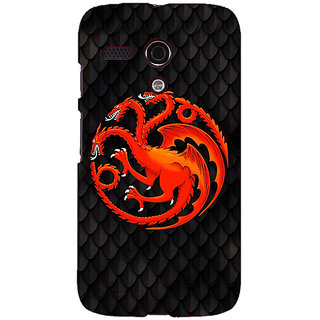 EYP Game Of Thrones GOT House Targaryen  Back Cover Case For Moto G (1st Gen) 130138