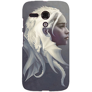 EYP Game Of Thrones GOT House Targaryen  Back Cover Case For Moto G (1st Gen) 130141