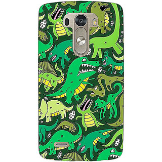 EYP Dinosaurs Pattern Back Cover Case For Lg G3 D855 221383
