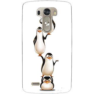 EYP Penguins Madagascar Back Cover Case For Lg G3 D855 221385