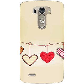 EYP Hearts Back Cover Case For Lg G3 D855 221406
