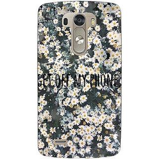 EYP Floral Pattern Back Cover Case For Lg G3 D855 221408