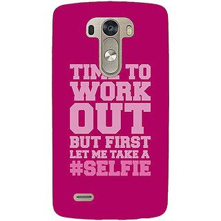 EYP Selfie Quote Back Cover Case For Lg G3 D855 221498