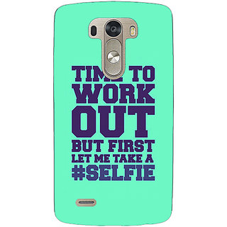 EYP Selfie Quote Back Cover Case For Lg G3 D855 221499