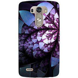 EYP Abstract Flower Pattern Back Cover Case For Lg G3 D855 221505