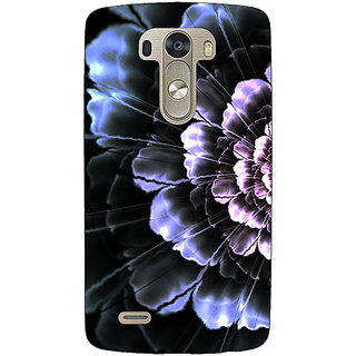 EYP Abstract Flower Pattern Back Cover Case For Lg G3 D855 221512