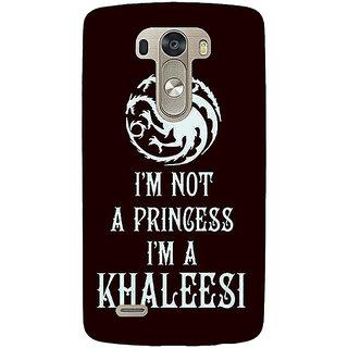 EYP Game Of Thrones GOT Princess Khaleesi Back Cover Case For Lg G3 D855 221537