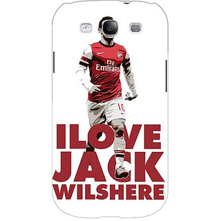 EYP Arsenal Jack Wilshere Back Cover Case For Samsung Galaxy S3 Neo 340520