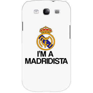 EYP Real Madrid Back Cover Case For Samsung Galaxy S3 Neo 340599