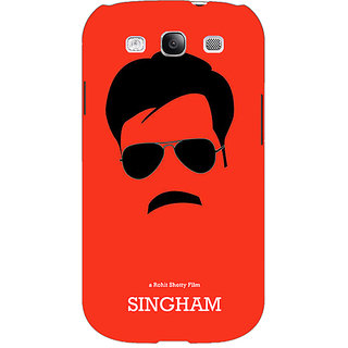 EYP Bollywood Superstar Singham Back Cover Case For Samsung Galaxy S3 Neo 341079