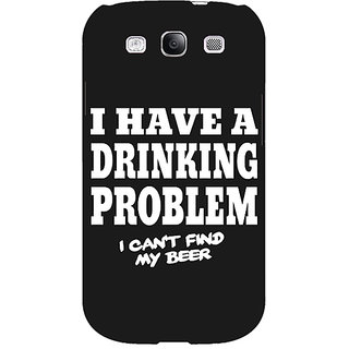 EYP Beer Quote Back Cover Case For Samsung Galaxy S3 Neo 341255