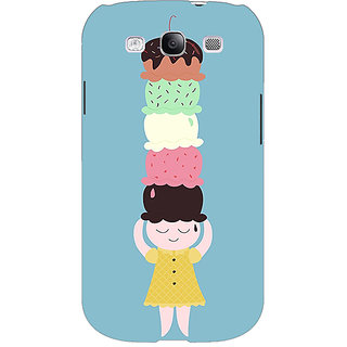 EYP Ice Cream Back Cover Case For Samsung Galaxy S3 Neo GT- I9300I 351340
