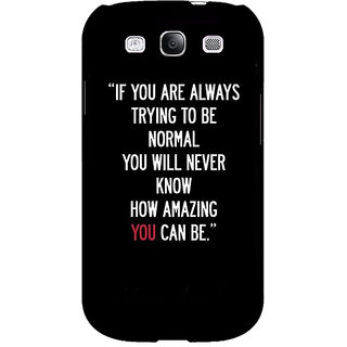 EYP Quote Back Cover Case For Samsung Galaxy S3 Neo 341472