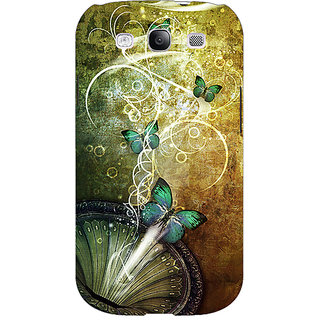 EYP Abstract Butter Fly Pattern Back Cover Case For Samsung Galaxy S3 Neo 341525