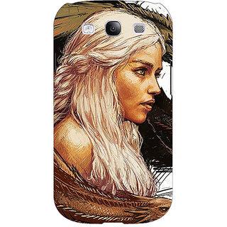 EYP Game Of Thrones GOT Khaleesi Daenerys Targaryen Back Cover Case For Samsung Galaxy S3 Neo 341534