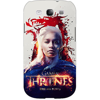 EYP Game Of Thrones GOT Khaleesi Daenerys Targaryen Back Cover Case For Samsung Galaxy S3 Neo 341539