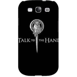 EYP Game Of Thrones GOT Hand Of The King Back Cover Case For Samsung Galaxy S3 Neo 341545