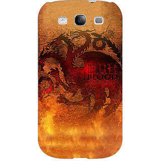 EYP Game Of Thrones GOT House Targaryen Back Cover Case For Samsung Galaxy S3 Neo 341550