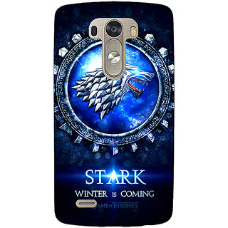 EYP Game Of Thrones GOT House Stark Back Cover Case For Lg G3 D855 221555