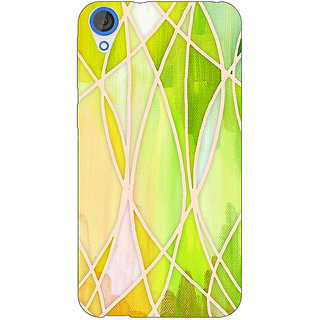 EYP Designer Geometry Pattern Back Cover Case For HTC Desire 820Q 290236