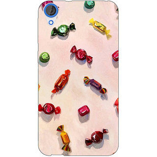EYP Toffee Pattern Back Cover Case For HTC Desire 820Q 290247